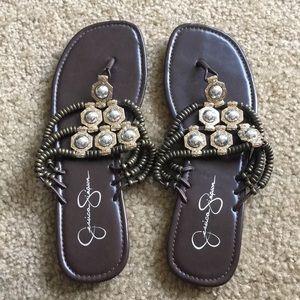 Jessica Simpson sandals.